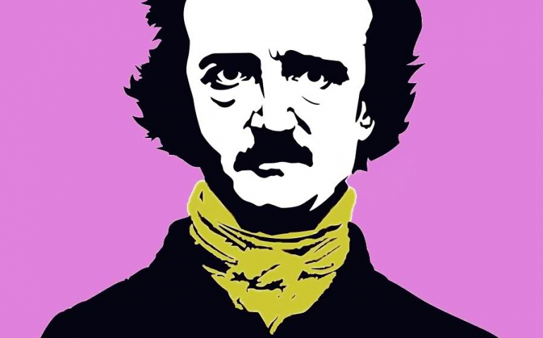 Edgar Allan Poe had a time machine
